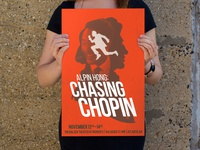 Alpin Hong: Chasing Chopin Poster