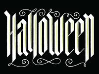 Halloween Calligraphy