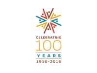 Grand St. Settlement Centennial Logo