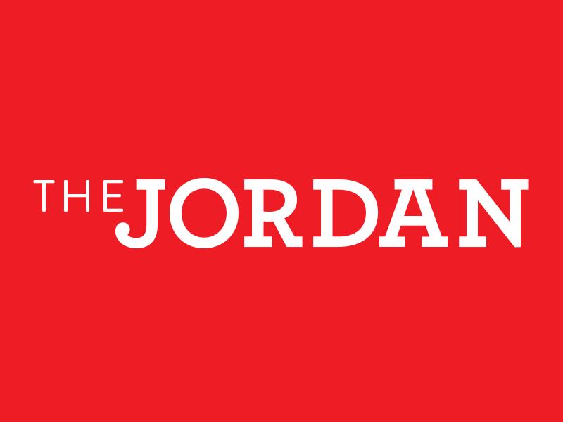 The Jordan Identity hoboken logo branding identity red white residences real estate