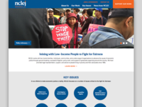 National Center For Law & Economic Justice Website