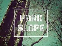 Park Slope Typography