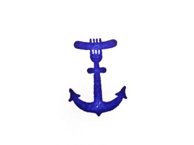 Smorgasboat Anchor smorgasboat anchor logo hot dog nautical