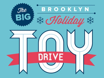 Brooklyn Toy Drive Poster