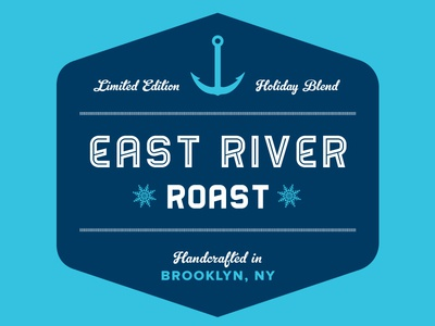 East River Roast Label