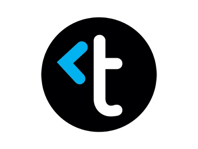 Trustonic Logo logo t arrow circle branding identity