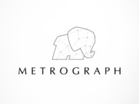 Logo for digital graphics studio METROGRAPH ©