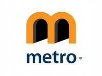 Logo for Advertising agency METRO ©
