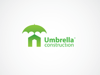 Logo for construction company Umbrella Construction ©