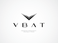 Logo for a juridical company VBAT ©