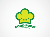 Logo for food supply company GOOD FOOD ©