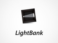 Logo for Film Production Company LightBank ©
