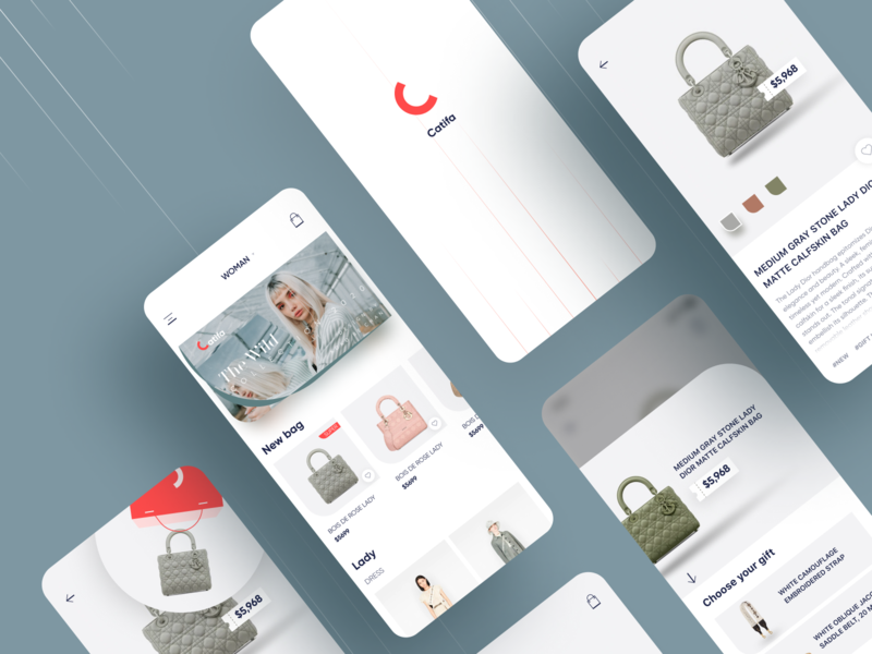 Shopping App UI ux ui cards ui payment shopping order mobile ios fashion ecommerce app design pit category cart card buy app