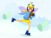 Honeybee Character