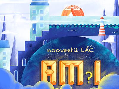 Am I? pastelcolor affinitydesigner flat cute character color illustration nooveetii