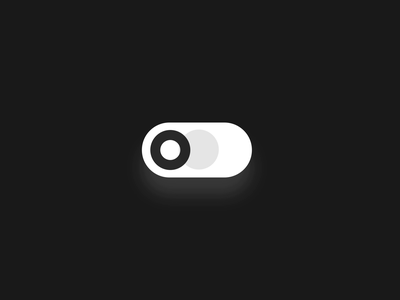 Switcher animation ux mobile microinteraction button after effects interaction design toggle swipe on off switch switch on off animation ui vector flat
