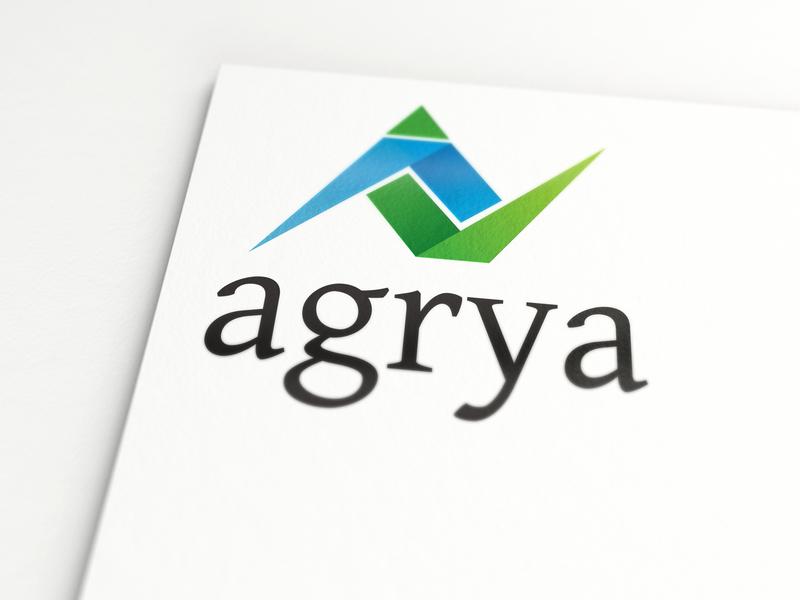 Agrya | Corporate Branding for Finance Consulting icon design branding logo finance logo corporate branding branding and identity logo design logo design branding