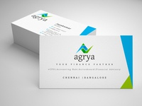 Business Card Design | Finance Company Branding