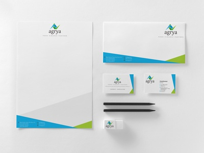 Corporate Identity for Finance Consulting Company