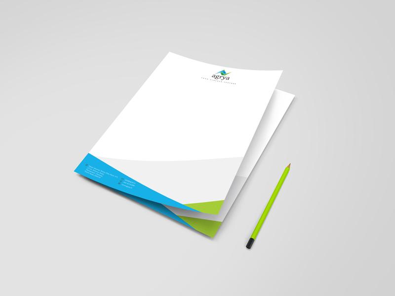 Letterhead Design logo design branding finance logo letterhead design corporate identity branding and identity corporate branding