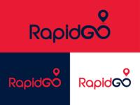 Logo Design for Rapidgo, Logistics Company | Color Combo