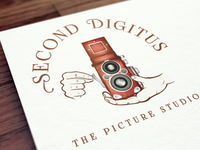 Second Digitus | Vintage Logo Design for Photography Studio