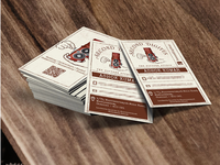 Second Digitus | Vintage Branding | Business Card Design