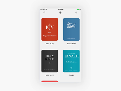 meaning home screen prototype profile feed book layout ios mobile ux ui prototype