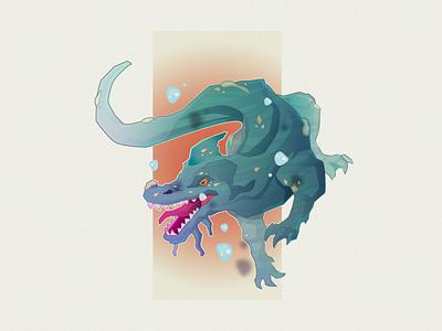 Alien Creatures concept art creatures alien monsters gaming modern vector character illustration