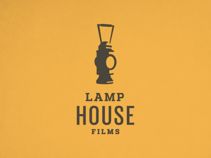 Lamp House Films Logo logo branding film icon illustration identity