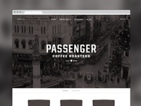 Passenger Coffee Homepage