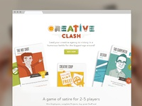 Creative Clash Homepage