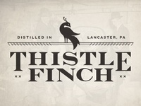 Thistle Finch Distillery Logo