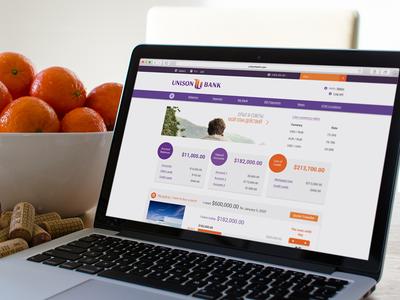 Online banking service for UnisonBank