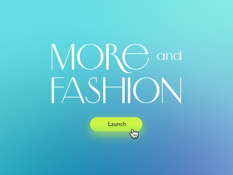 More and Fashion logo symbol fashion trademark brand identity logo