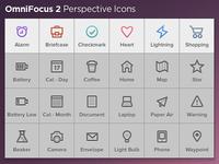 OmniFocus 2 Perspective Icons