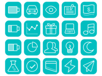 iOS Specific OmniFocus Perspective Icons
