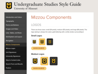 Undergraduate Studies Style Guide