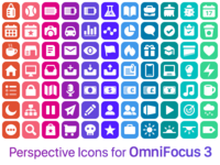 Perspective Icons for OmniFocus 3 for iOS