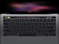 Voice Control - Macbook Pro Touch Bar- Finie Clinc