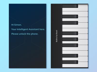 Music Password And AI fun concept graphic design visual design ui login password music ai