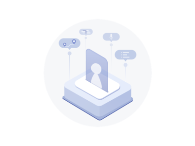 Icon for learning customer preferences visual design illustration data visualization wip users icons graphic design