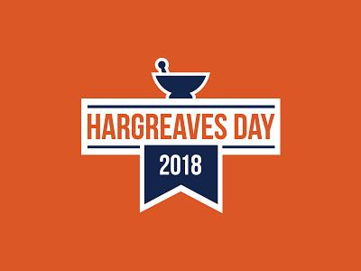 Hargreaves Day Logo logo pharmacy pestle mortarpestle 2018 event hargreaves
