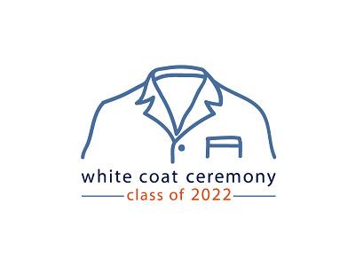 White Coat Ceremony Logo logo pharmacy pharmacist whitecoat jacket coat