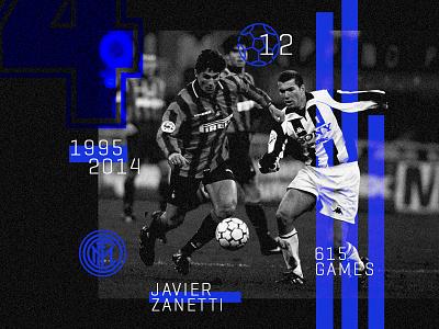 Javier Zanetti  soccer football defender legend milan inter zanetti javier