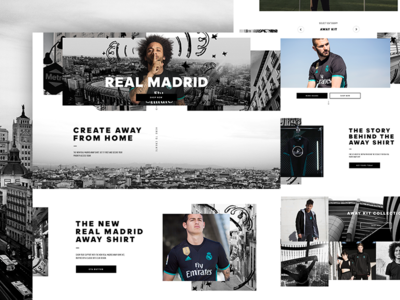 Real Madrid Club experience page