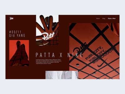 Patta x Nike concept page #2