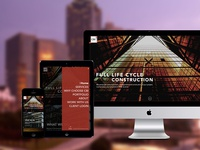 CBI Construction Website Redesign