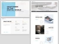 Website Redesign Explorations