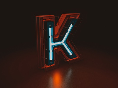 K 3d art lighting c4d 3d